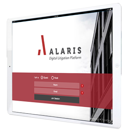 alaris ipad web